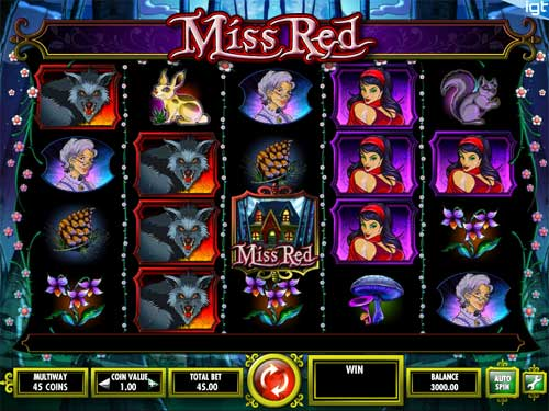 Miss Red free slot