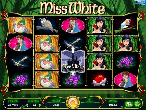 Miss White free slot