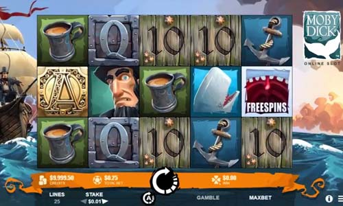 Moby Dick free slot