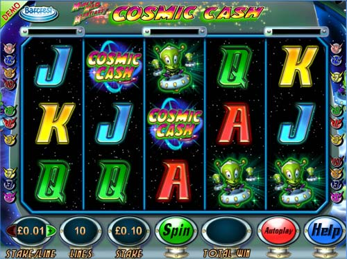 Money Mad Martians Cosmic Cash free slot