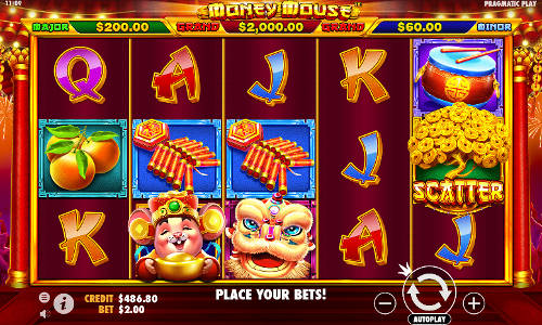 Money Mousejackpot slot