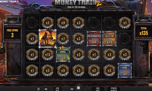 Money Train 2increasing multiplier slot