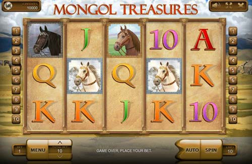 Mongol Treasures free slot