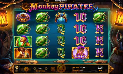 Monkey Pirates free slot