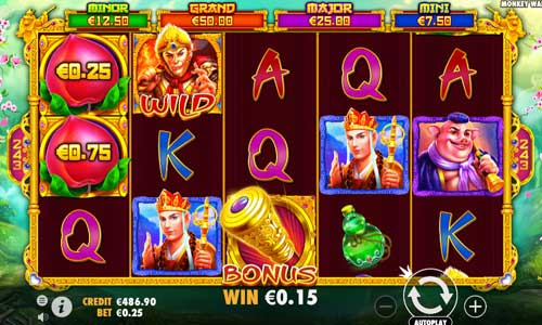 Monkey Warriorjackpot slot