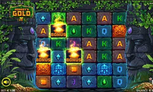 Monkeys Gold casino slot