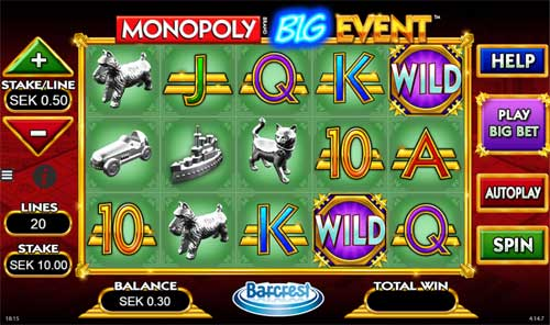 Monopoly Big Event free slot