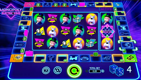 Monopoly Electric Wins casino slot