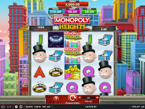 Monopoly Heights casino slot