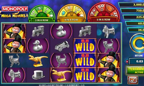 Monopoly Mega Movers free slot