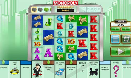 Monopoly Megawaysincreasing multiplier slot