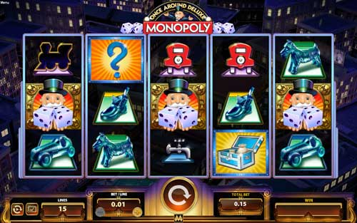 Monopoly Once Around Deluxe free slot