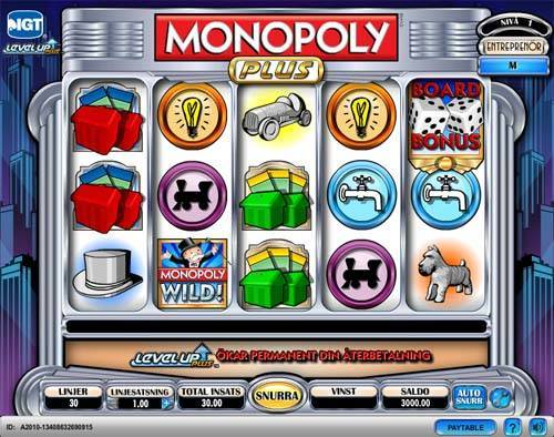 Monopoly Plus free slot