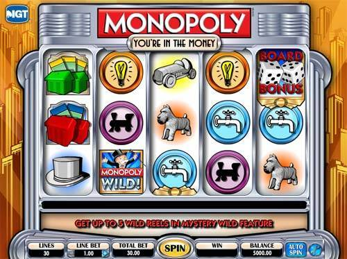 Monopoly In The Money free slot