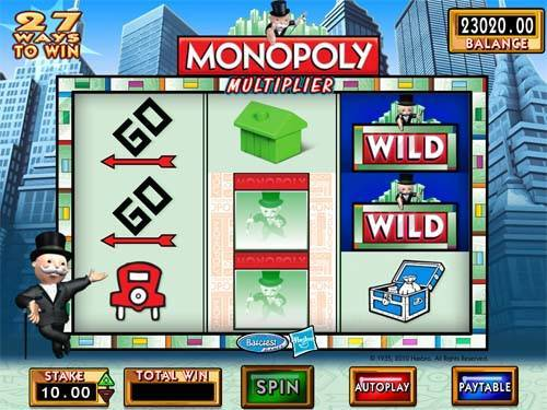 Monopoly Multiplier free slot