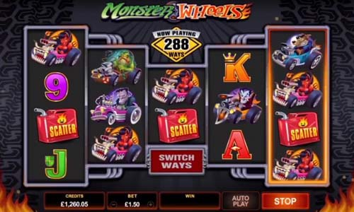 Monster Wheels free slot