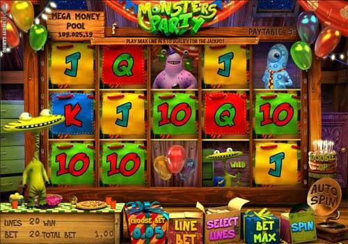 Monsters Party free slot