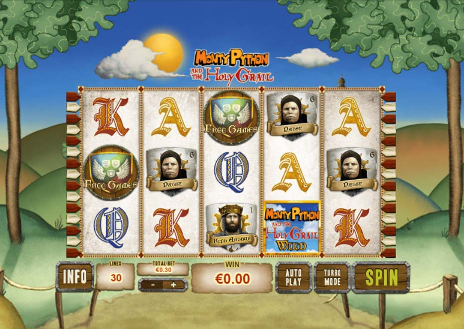 Monty Pythons Holy Grail free slot