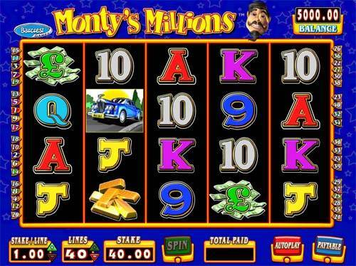 Montys Millions free slot