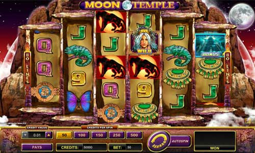 Moon Temple free slot