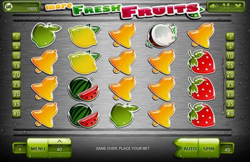 More Fresh Fruits free slot