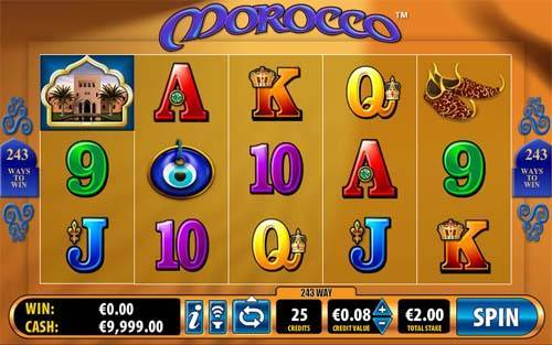 Morocco free slot