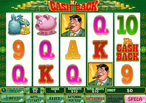 Mr Cashback free slot