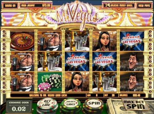 Mr Vegas casino slot
