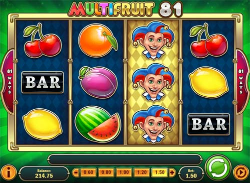 Multifruit 81 free slot