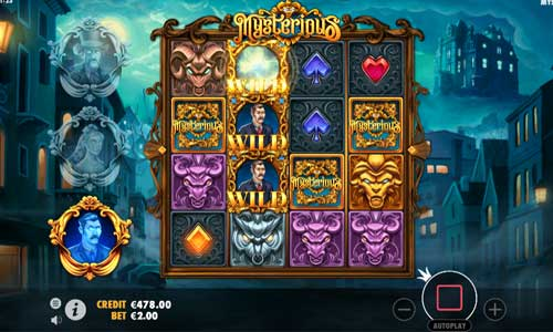Mysterious free slot