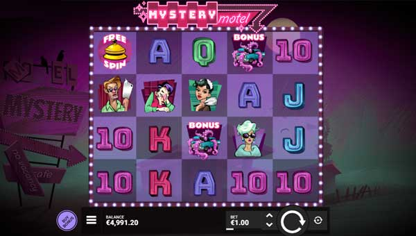 Mystery Motel free slot