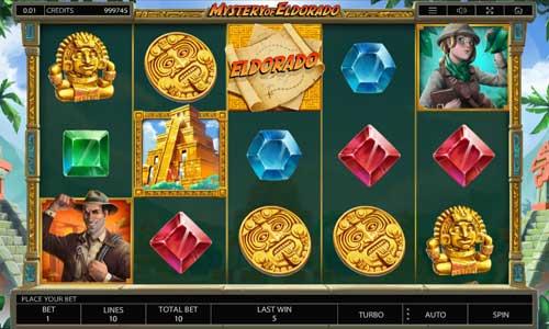 Mystery of Eldorado free slot