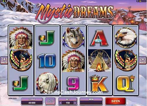 Mystic Dreams free slot
