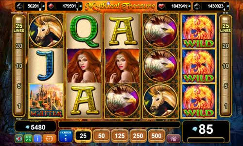 Mythical Treasurejackpot slot