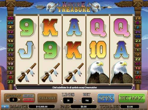 Native Treasure free slot