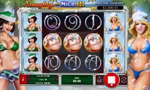 Naughty Or Nice 3 free slot