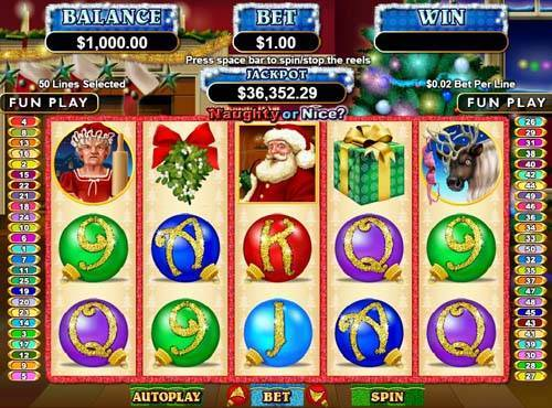 Naughty Or Nice free slot