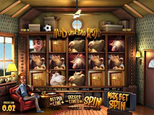 Ned and the Rats free slot