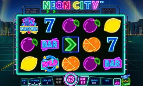 Neon City free slot