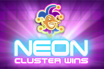 Neon Cluster Wins slot Stakelogic