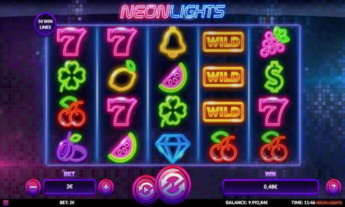 Neon Lights free slot