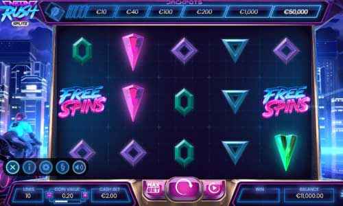 Neon Rush Splitzjackpot slot