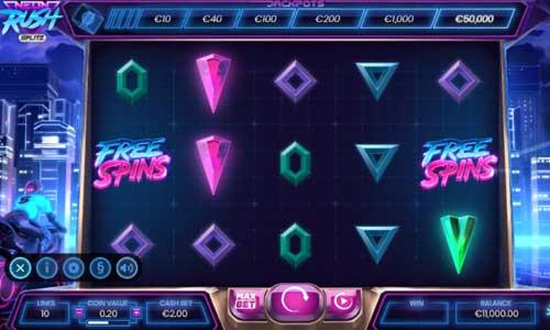 Neon Rush Splitz free slot