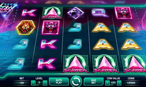 Neon Staxx Slots for Real Money - Rizk Casino
