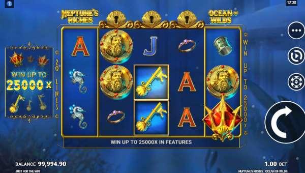 Neptunes Riches Ocean of Wilds casino slot