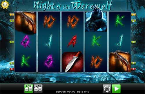 Night of the Werewolf free slot
