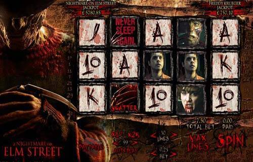 Nightmare on Elm Street free slot