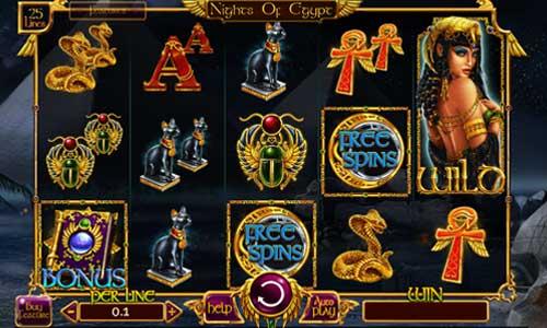 Nights of Egypt free slot