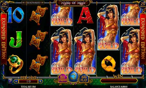 Nights of Magic Expanded Edition new slot