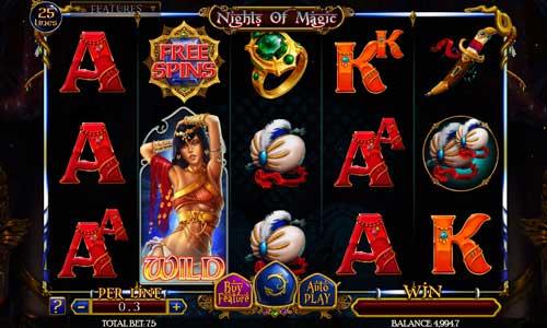 Nights of Magic free slot